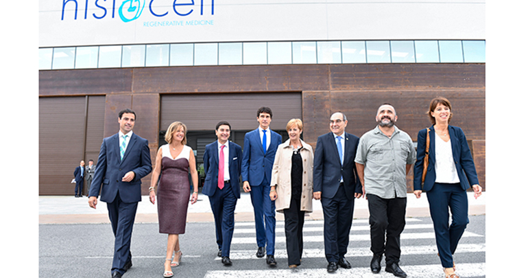 Histocell inaugura centro de producción en Larrabetzu