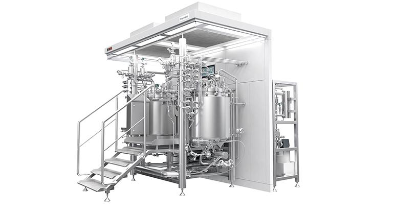 Sistemas de proceso para fabricación de especialidades farmacéuticas líquidas