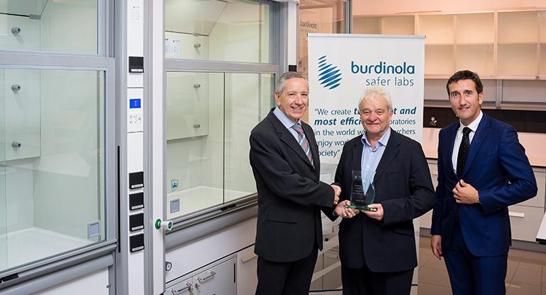 El Nobel de Fisiología o Medicina, Sir Paul Maxime Nurse, visita Burdinola en su 40º aniversario