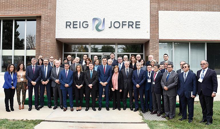 Reig Jofre inaugura la ampliación de su planta ubicada en Toledo
