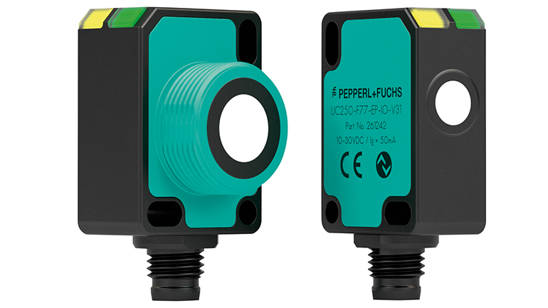 Sensor ultrasónico con amplio rango de medición y comunicación integral